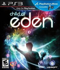 Child of Eden [PlayStation 3 PS3, PS Move, Addictive Multi-Sensory Shooter] NEW