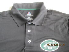 Men's New York Jets  Collared Pullover Short Sleeve sz. L 100% Polyester New
