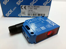 Sick WL12-3P2461 Photoelectric retro-reflective sensor Sn:2m PNP Light/Dark