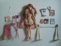 "Mattel BARBIE DOLL - MY SCENE - Lindsay Lohan ""Goes Hollywood"" + Accessories"