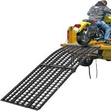 "Black Widow 94.5"" x 40"" Aluminum Arched Motorcycle Folding 4-Beam Loading Ramp"