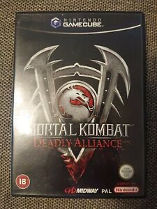 Mortal Kombat Deadly Alliance Nintendo Gamecube Game Cube PAL CIB COMPLETE