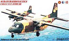 MODELO DEL CASA C-212 AVIOCAR. ESCALA 1/72. RESINA DE POLIURETANO