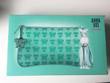 New Anna Sui Light Green Cosmetic Bag Pencil Case