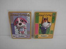 Animal Crossing Nintendo Game Boy E Reader Cards 077 COOKIE 063 COPPER L91