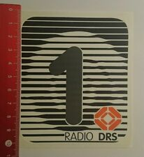 Aufkleber/Sticker: Radio Drs 1 (230816139)