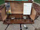 Vintage Primus 2 Burner Propane Stove Model 4300 Century Tool Illinois USA *BOX*