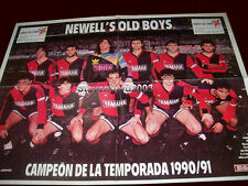 Soccer NEWELL'S OLD BOYS PRIMERA A CHAMPION 1990/1 - Poster Argentina