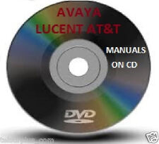 AT&T Lucent Avaya Partner & Endeavor Phone System Manual Guide & Voice Mail CD
