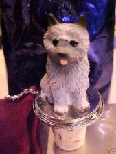 Cairn Terrier Gray Dog Wine Stopper