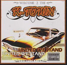"""""""WELCOME 2 THE K-TOWN"""" VARIOUS RAP CD OOP 2009"""