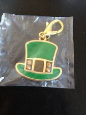 Petco 2013 St. Patricks Leash Charm/keychain leprechaun hat