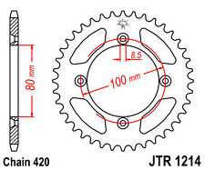 JT Rear Sprocket 46 Tooth XR CRF 70 CR 80 CR 60 XR80R  JTR1214.46