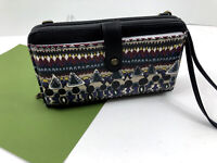 Sakroots Smartphone Wristlet Crossbody Wallet One World Multi Large Phone NWT B