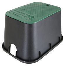 """Dura Rectangle Sprinkler Valve Box-Size:15"""" W x 21"""" L x 12"""" D"""