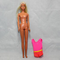 Vintage 1966 Barbie Doll Blonde/Blue Eyes Japan CF01772