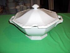 Vintage Rosenthal China Large Soup Tureen  Maria White  Classic Rose NICE