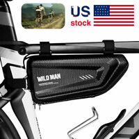 Waterproof Cycling Bicycle Bag Front Triangle Frame Top Tube Road MTB Bikes US