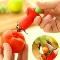 Strawberry Berry Leaves Stem Huller Gem Remover Entfernung Fruit Küche Core F7I9
