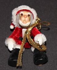 Santa Monkey Robert Raikes Collectibles Christmas Ornament Itty Bitty 1997 COA
