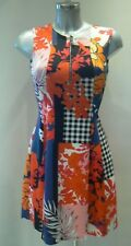 PINKO Mitologico Patchwork Dress Size XS - 8  NEW TAGS