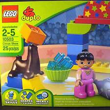 LEGO Duplo Legoville Circus Show [10503] (2-seals, sea lions, fish, Girl) new FS