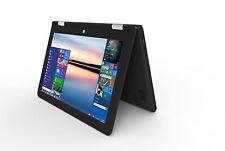 """VERICO UniBook Notebook Laptop Netbook 10.1"""" Touchdisplay Windows 10 schwarz TOP"""