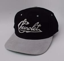"""""""Chevrolet"""" One Size Fits All Adjustable Black & Silver Baseball Cap Hat"""