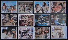 UN COW-BOY EN COLERE set 12 lobby card photo scenario 1976 film WESTERN L MARVIN