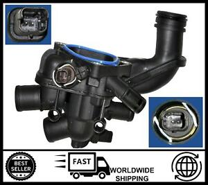 Thermostat Housing with Sensor FOR Citroen C4 Grand Picasso [2008-2015] 1.6