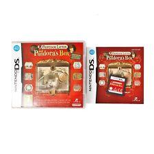 Professor Layton & Pandora's Box For Nintendo DS / 3DS / 2DS. Complete