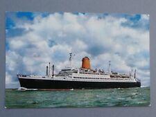 alte Postkarte TS BREMEN Norddeutscher Lloyd