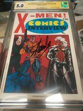 X-Men comic interview CGC SS STAN LEE David Anthony Kraft's fictioneer books🔥