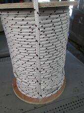 """3/8"""" X 1FT CABLEMAX DOUBLE BRAID POLYESTER/KEVLAR CABLE PULLING ROPE 9100Lb USA"""