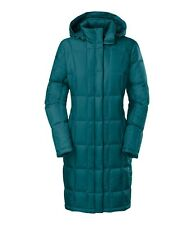 NEW The North Face Women's Metropolis Down Parka Juniper Teal XS Jacket