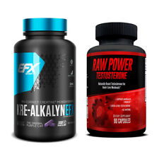 Kre-Alkalyn (240 Cas) & Raw Power (90 Caps) - Superior Muscle Building Stack