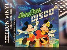 Walt Disney Mickey Mouse Disco LP Album Vinyl Record SHM3019 A1/B1 Children 70's