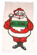 Flagge / Fahne Frohe Weihnachten Welcome Hissflagge 90 x 150 cm