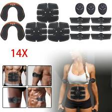 14x ABS EMS Bauchmuskeltrainer Damen Po Push Up Stimulator Exerciser Pad USB