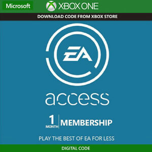 EA Access 1 Month Subscription Trial Membership Region Free (Xbox One)
