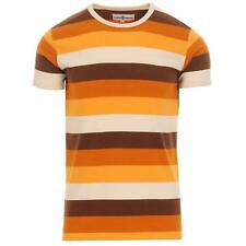 NEW MADCAP ENGLAND MENS RETRO 60s 70s STRIPED MOD T-SHIRT Tee Beatcomber MC515
