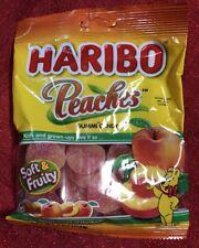 Haribo Peaches Gummi Candy Soft & Fruity Gummy 4 oz Bag