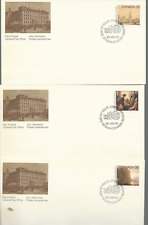 Canada 1980 Sc# 849-52 Pairs Mnh & 5 Official Fdc'S Royal Canadian Academy Arts