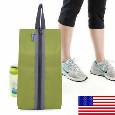 Portable Travel Shoe Bag Drawstring View Window Pouch Storage Waterproof Bags US
