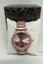 100% Authentic Betsey Johnson COTTON CANDY PINK Watch in Pink Tone