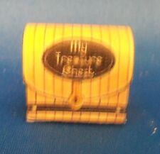 Dollhouse Miniature 1:12 Scale Non Opening Treasure Chest