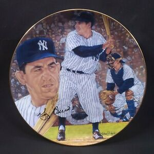 "Vintage Yogi Berra Gartlan ""It Ain't Over"" Commemorative Plate-No. 644 of 10,000"