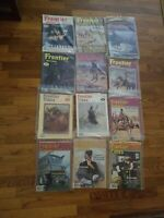 Lot of 12 vintage FRONTIER TIMES magazines 1980s