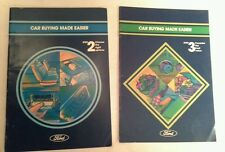 FORD CAR BUYING MADE EASIER SET (STEP 2 AND 3 ONLY)