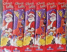 6 X Choco Lolly Chocolate Piruletas Niños Relleno bolsa fiesta regalo de Navidad Presente